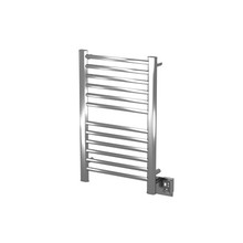 Amba Sirio S-2133-P 21'' x 33'' Towel Warmer & Space Heater - Polished Stainless