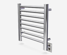 Amba Sirio S-2121-B 21'' x 21'' Towel Warmer & Space Heater - Brushed Stainless