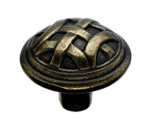 "Top Knobs Tuscany M160 1 1/4"" Celtic Large Cabinet Knob - German Bronze"