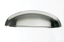 "Top Knobs Somerset M360 3"" CC Somerset Cup Door Pull - Brushed Satin Nickel"