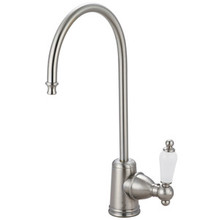 Kingston Brass Water Filtration Filtering Faucet - Satin Nickel KS7198PL