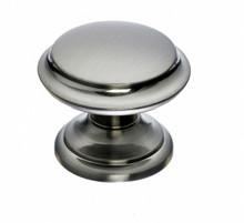 """Top Knobs Asbury & Dakota M1303 1 3/8"""" Flat Top Cabinet Knob - Brushed Satin Nickel"""