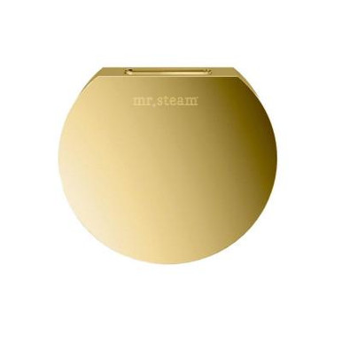 Mr. Steam 103937PB Aromasteam Round Steamhead  - Polished Brass