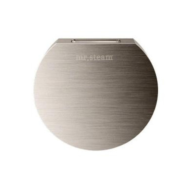 Mr. Steam 103937BN Aromasteam Round Steamhead  - Brushed Nickel