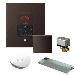 Mr. Steam MSBUTLER1 SQ-ORB Butler Package with iTempo Pro Square Programmable Control for Steam Bath Generator - Oil Rubbed Bronze