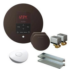 Mr. Steam MSBUTLER2RD-ORB Butler Package with (2) iTempo Pro Round Programmable Control for Steam Bath Generator - Oil Rubbed Bronze