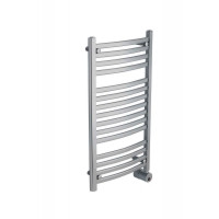 Mr. Steam W236 PC Curved 36H x 20W Wall Mounted Towel Warmer   - Polished Chrome