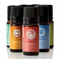 Mr. Steam MS-CHAKRA7 Chakra Blend Essential Oil Bottle with Integral Dropper - 7 Assorted Pack
