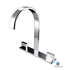 Fresca FFT3801CH Two Handle Widespread Vanity/Bathroom Faucet  - Chrome