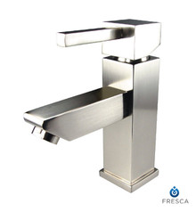 Fresca FFT1030BN Single Hole Lav Vanity/Bathroom Faucet  - Brushed Nickel