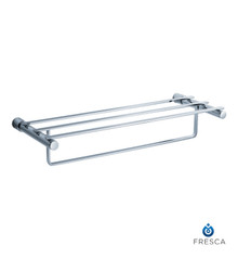 "Fresca FAC0142 23""  Towel Shelf and Bar - Rack  - Chrome"