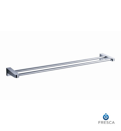 "Fresca Generoso FAC2339 20"" Double Towel Bar  - Chrome"