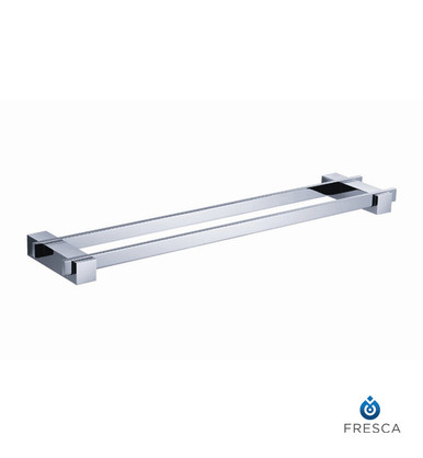 "Fresca FAC1439 20"" Double Towel Bar  - Chrome"