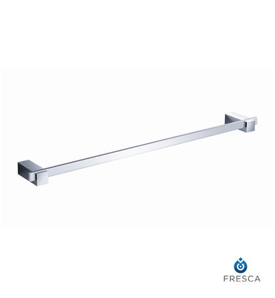 "Fresca FAC1437 24"" Towel Bar  - Chrome"