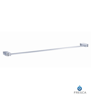 "Fresca FAC1337 24"" Towel Bar  - Chrome"