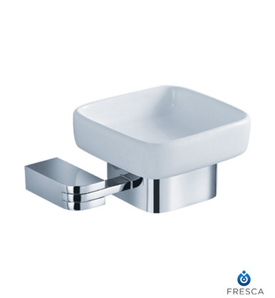 Fresca FAC1308 Wall Mounted Soap Dish  - Chrome
