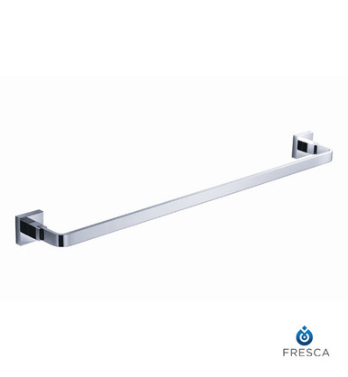 "Fresca FAC1136 20"" Towel Bar  - Chrome"