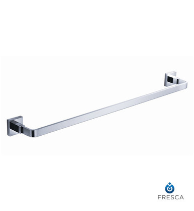 "Fresca FAC1137 24"" Towel Bar  - Chrome"
