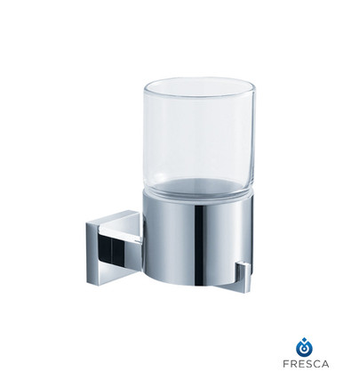 Fresca FAC1110 Wall Mounted Tumbler Holder  - Chrome
