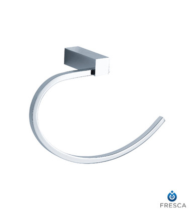 Fresca FAC0425 Open Towel Ring  - Chrome