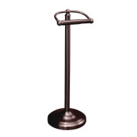 Gatco GC1436BZ Free Standing Tissue Paper Holder - Bronze