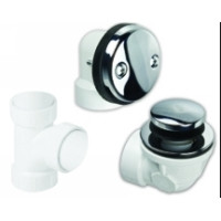 Mountain Plumbing BDWPTTP PVD Soft Toe Touch Drain Economy Plumber's Half Kit - PVD Brass