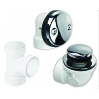Mountain Plumbing BDWPTTA SC Soft Toe Touch Drain Economy Plumber's Half Kit - Satin Chrome