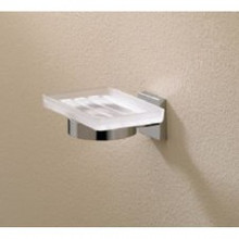 Valsan Braga 67685ES Wall Mount Soap Dish - Satin Nickel
