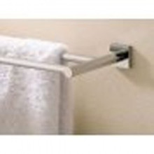 "Valsan Braga 67675CR 19 11/16"" Double Towel Bar - Rack - Chrome"