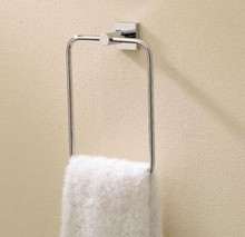 Valsan Braga 67642ES Large Towel Ring - Satin Nickel