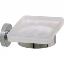 Valsan Porto 67585ES Soap Dish - Wall Mounted - Satin Nickel