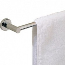 "Valsan Porto 67546ES 23 5/8"" Towel Rail - Bar - Satin Nickel"