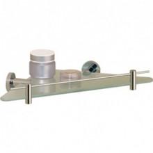 Valsan Porto 67538CR Corner Glass Shelf - Chrome