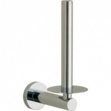 Valsan Porto 67522CR Spare Tissue Paper Holder - Wall Mounted - Chrome