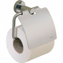 Valsan Porto 67520ES Tissue Paper Holder with Lid - Satin Nickel