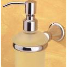 Valsan Sintra 66884ES Soap Dispenser - Wall Mounted - Satin Nickel