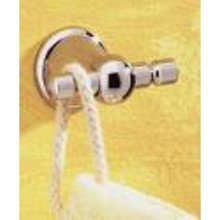 Valsan Sintra 66812CR Double Robe Hook - Chrome