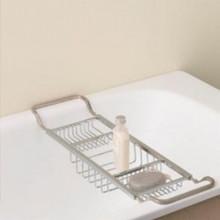 Valsan Essentials 53413NI Adjustable Bathtub Caddy-Rack-Polished Nickel
