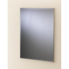 Valsan VDS 53206ES Rectangular Framed Mirror w/Bevel - Satin Nickel