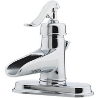 Price Pfister Ashfield LG42-YP0C Single Handle Lavatory Faucet - Chrome