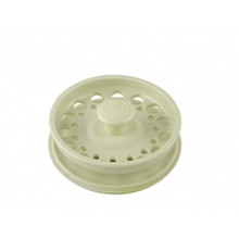 Opella 799.16 Basket Strainer & Stopper For Disposer  - Biscuit