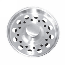 Opella 799.045 Basket Strainer & Stopper For Disposer  - Polished Stainless Steel