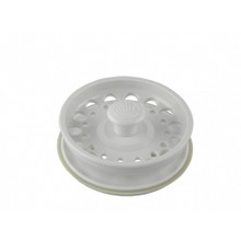 Opella 799.01 Basket Strainer & Stopper For Disposer  - Polar White