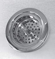 Trim To The Trade 4T-242-47 Lock Style Basket Strainer for Kitchen Sink - Venezian Bronze