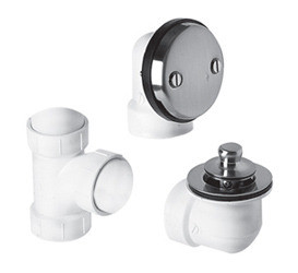 "Mountain Plumbing BDWPLTP ORB Lift & Turn Bath Waste & Overflow Plumber""s Half Kit - Oil Rubbed Bronze"