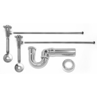 Mountain Plumbing MT3046-NL/ORB Lav Sweat Valve  Supply Kits W/New England/ Massachusetts P-Trap -  Oil Rubbed Bronze