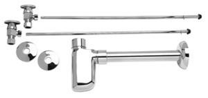 Mountain Plumbing MT9000-NL-PVD BB Lav Supply Kits W/Decorative Trap - PVD Brushed Bronze