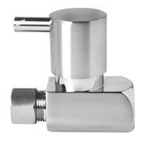 Mountain Plumbing MT5120L-NL/SC Lever Handle Straight Valve - Lead Free - Satin Chrome