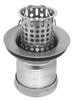 Mountain Plumbing MT710 PN Bar Sink Strainer - Polished Nickel