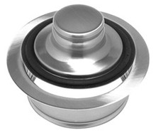 Mountain Plumbing MT204 BRS Waste Disposer Stopper & Flange - Brushed Stainless
